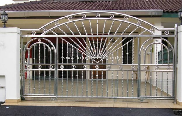 Stainless steel main gate74