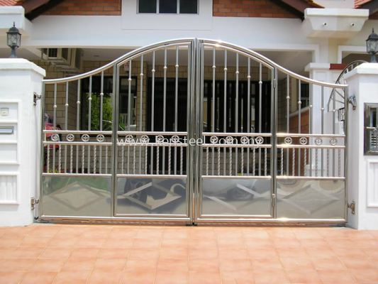 Stainless steel main gate75