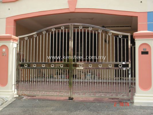 Stainless steel main gate41