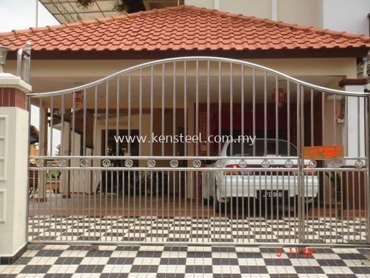 Stainless steel main gate42