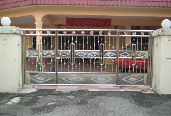 Stainless steel main gate51