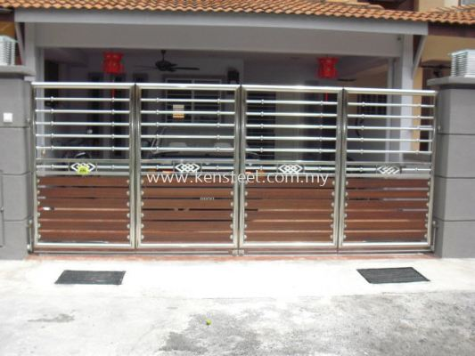 wood colour main gate55