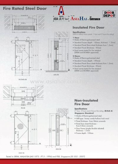 New product - Steel Door & Fire Rated Steel Door