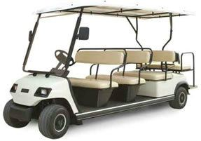 CM6+2A Electric Golf Car