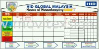 Housekeeping chart board design /planning 1 Design