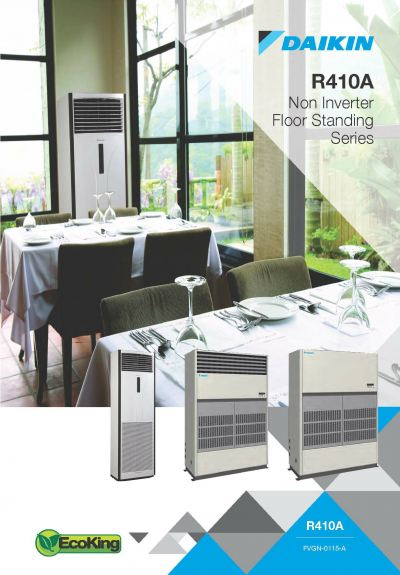 Daikin ECO KING R410A Non-Inverter Floor Standing Air-Conditioner (GA Range)