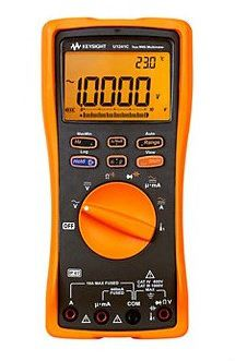 U1241C Handheld Digital Multimeter