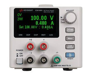 E36106A DC power supply, 100V, 0.4A, 40W  DC Power Supply   Keysight Technologies