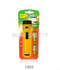 GreenCell Small Torch c/w 2'D Battery