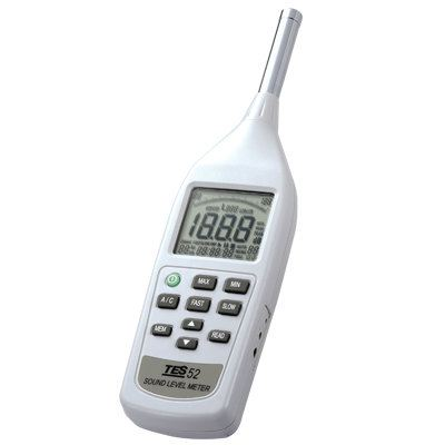 Sound Level Meter TES-52AA Sound Level Meters Climatic / Environment Inspection