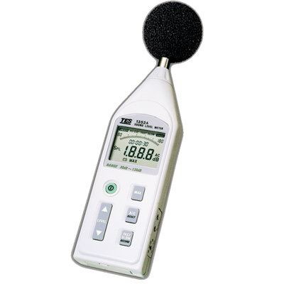 Programmable Sound Level Meter TES-1352S Sound Level Meters Climatic / Environment Inspection