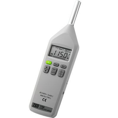 Digital Sound Level Meter TES-1150/1151 Sound Level Meters Climatic / Environment Inspection