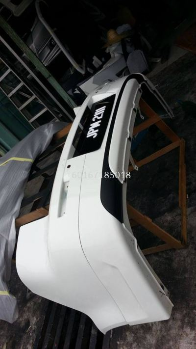 mitsubishi lancer ex rear bumper used