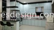 Rini Heights skudai Aluminium Kitchen Cabinet Design
