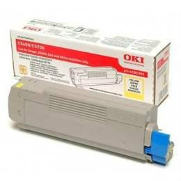 OKI C5600 C5700 YELLOW TONER CARTRIDGE (43381909)