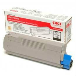 OKI C5550 C5800 BLACK TONER CARTRIDGE (43324428)