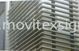 building Aluminium louvres /Architecture sign profle (click for more detail) Material