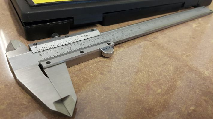 "Stainless Steel Vernier Caliper (6"" / 150MM) ID008380"