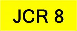 VIP Nice Number Plate (JCR8) All Plate
