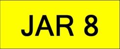 JAR8 VVIP Plate