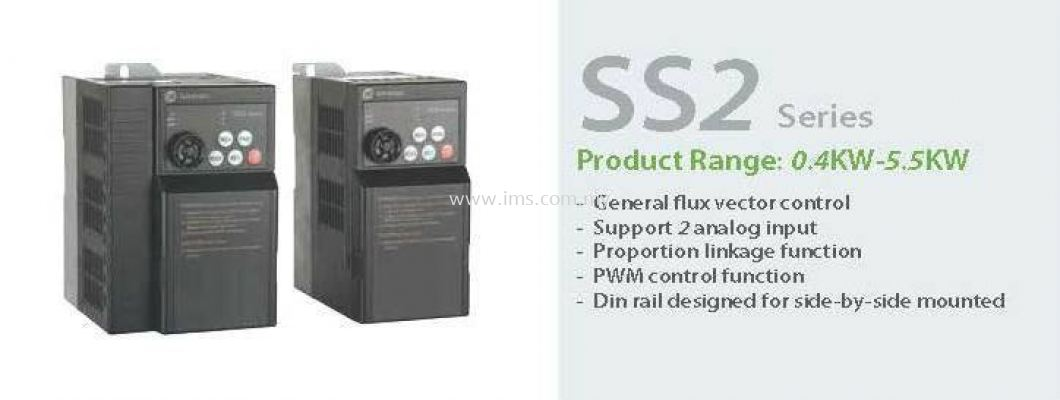 SS2-021-0.75K Shihlin Electric Vector Control Inverter