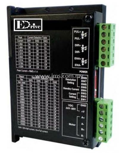 2M542 EDRIVE 2 Phase Stepper Motor Driver (Nema 17 - 23)