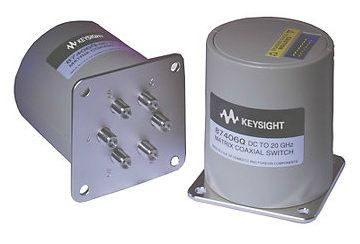 87406Q Low PIM Coaxial Switch, DC to 20 GHz, Matrix  RF and Microwave Electromechanical Switches  Keysight Technologies