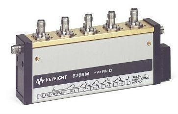 8769M Multiport Coaxial Switch, DC to 50 GHz, SP6T  RF and Microwave Electromechanical Switches  Keysight Technologies