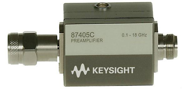 87405C Preamplifier, 100 MHz to 18 GHz  RF and Microwave Test Accessories  Keysight Technologies