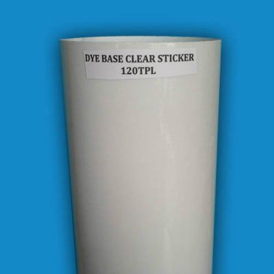 DC9012 Dye Transparent Sticker