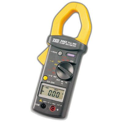 True RMS Clamp Meter TES-3082 Clamp Meter Electrical Inspection