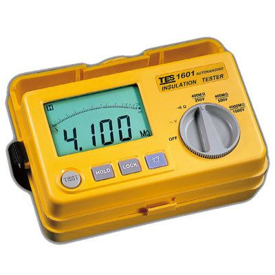 Auto Ranging Insulation Tester TES-1601