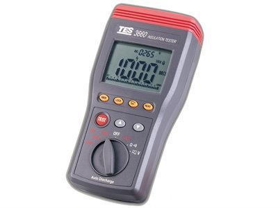 Autoranging Insulation Tester TES-3660