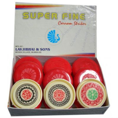 Superfine Carrom Sticker