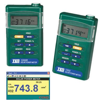 Solar Power Meter TES-1333/TES-1333R