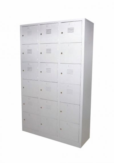18 Compartments Locker