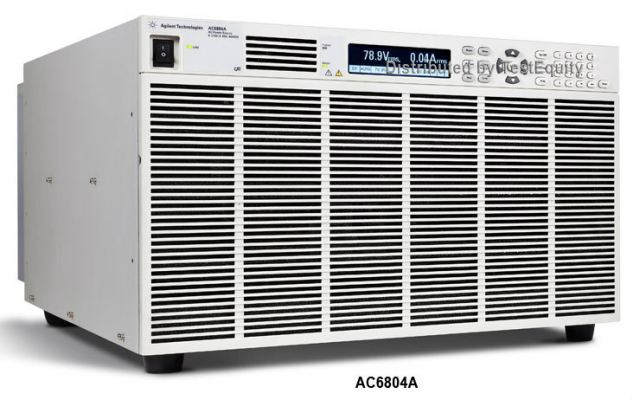 AC6804A Basic AC Power Source, 4000 VA, 270 V, 20 A