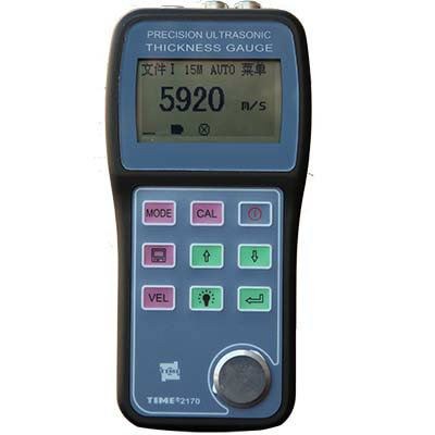 Ultrasonic Thickness Gauge - TIME2170 Ultrasonic Thickness Gauge