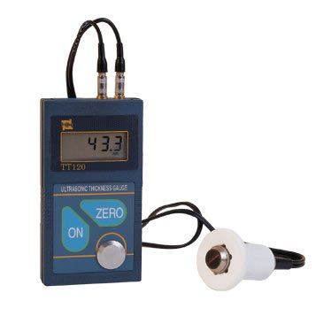 Ultrasonic Thickness Gauge - TT120 Ultrasonic Thickness Gauge Non-Destructive Testing System - Ultrasonic Testing Material Testing