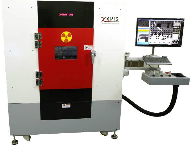 Xavis - XSCAN-A100 Non-destructive Testing System - X-Ray Testing Material Testing