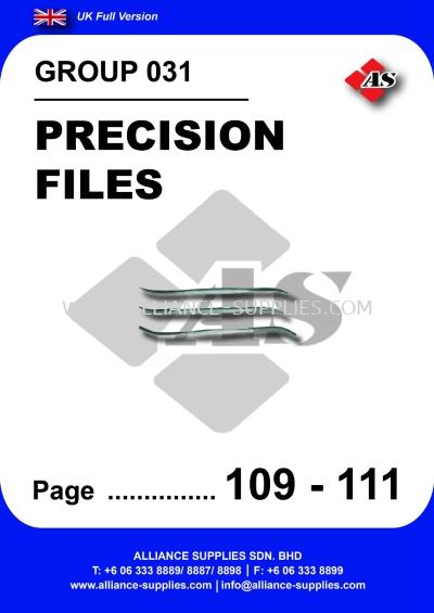 031 - Precision Files