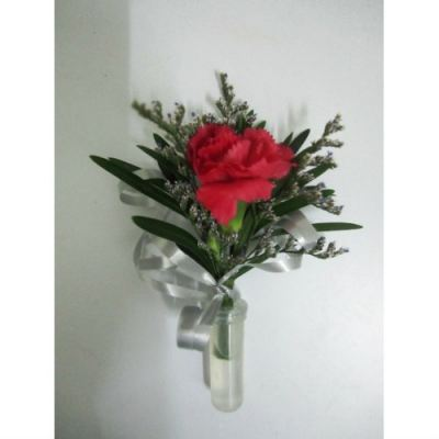 Red Carnation Corsage (CC-004)