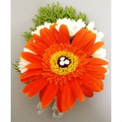 Orange Geberas Corsage (CC-008)