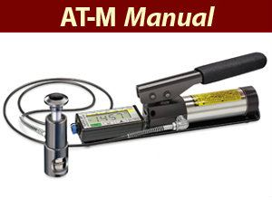 TQC sheen - Adhesion Testers - Positest Pull-Off Adhesion Tester - PosiTest AT-M (Manual)