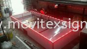 Fabrication n install Led area  Production
