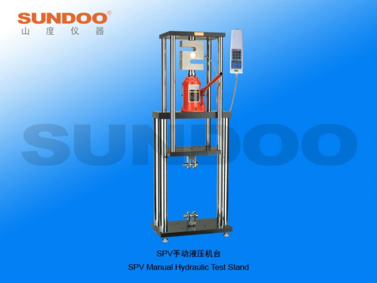 Sundoo - Manual Test Stand - SPV-50K Manual Hydraulic Test Stand Push-Pull Gauges / Stands Portable Inspection Gauges