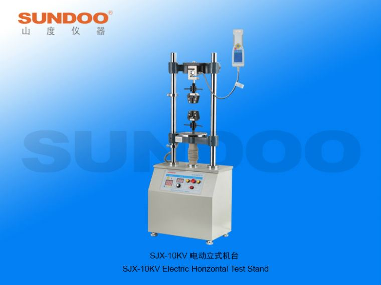 Electric Test Stand - SJX-10KV Electric Vertical Test Stand Push-Pull Gauges / Stands Portable Inspection Gauges