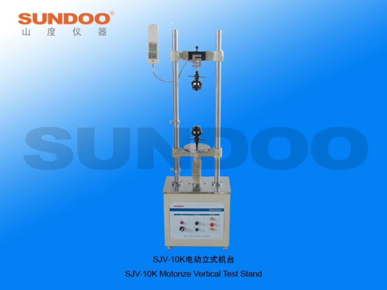 Electric Test Stand - SJV-10K Electric Vertical Test Stand Push-Pull Gauges / Stands Portable Inspection Gauges