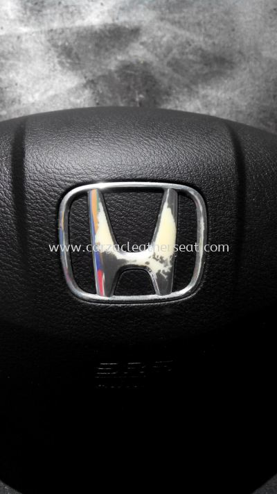 HONDA LOGO IN AIRBAG