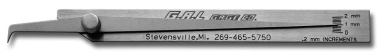 G.A.L gage - Pit Gauge Cat # 5f Welding Gauges Portable Inspection Gauges